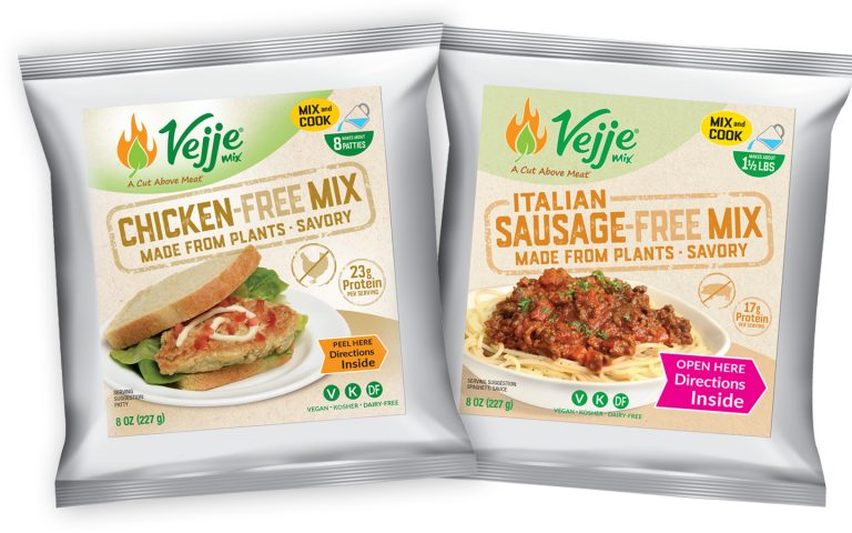 Vejje Chicken and Italian Sausage Free Packages